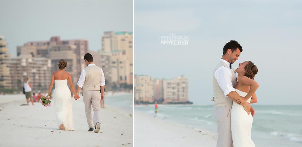marco island beach wedding marco island marriott